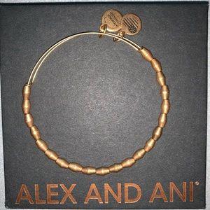 Alex and Ani Metal Beaded Bangle